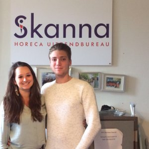 Natasja & Daniel van Skanna Amsterdam Damrak